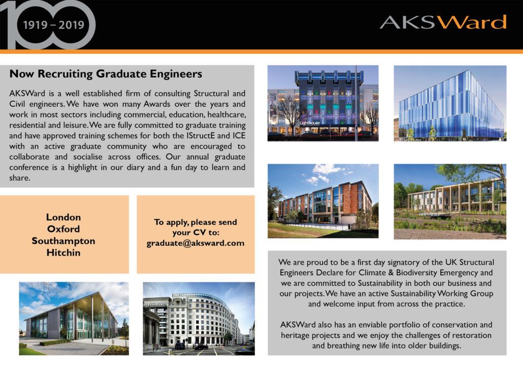 AKSWard graduate recruitment