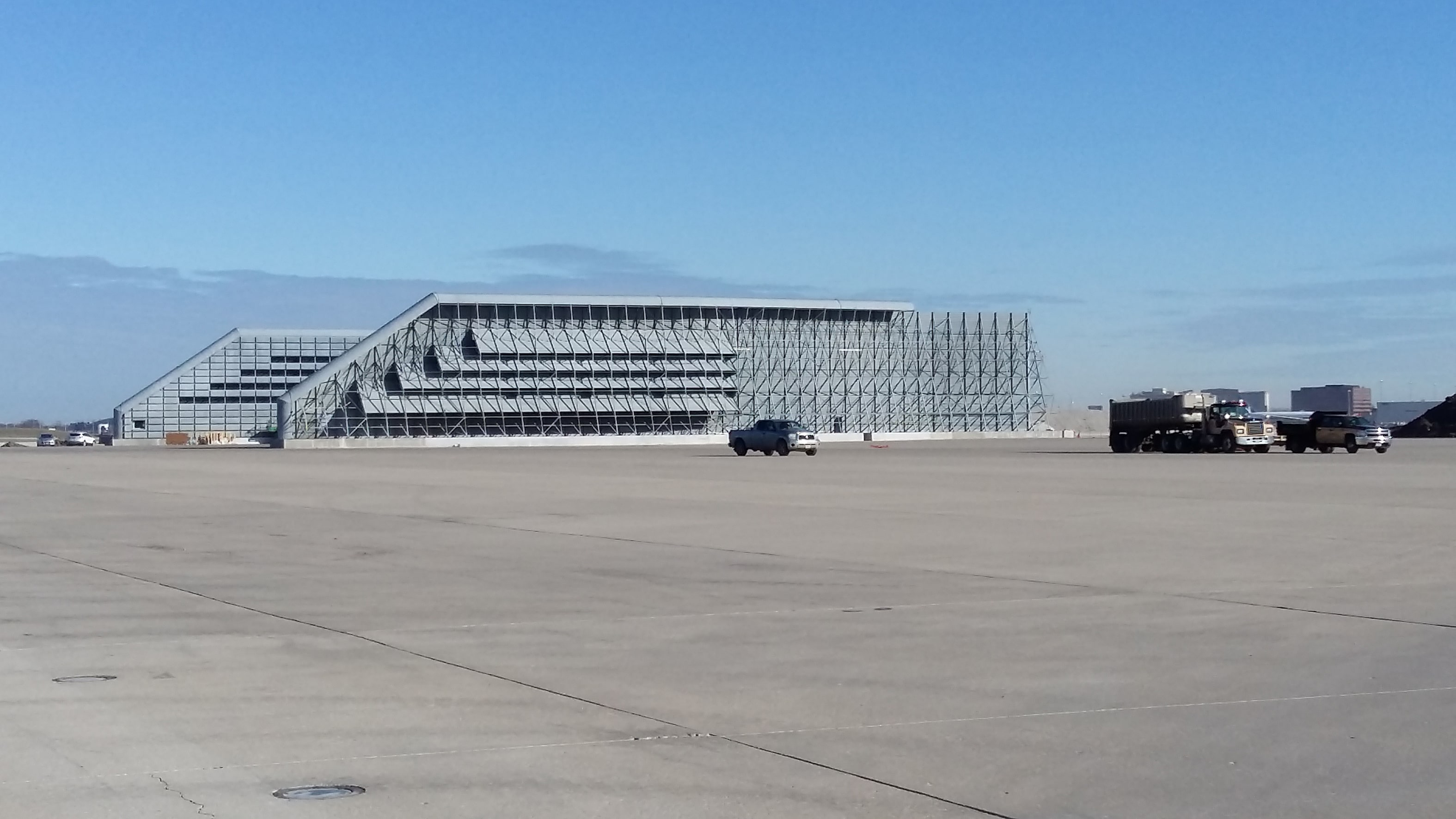 Ground Run-up Enclosure, O'Hare Airport, Chicago