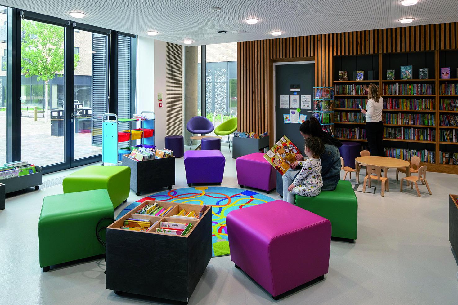 Clay Farm Centre children's library