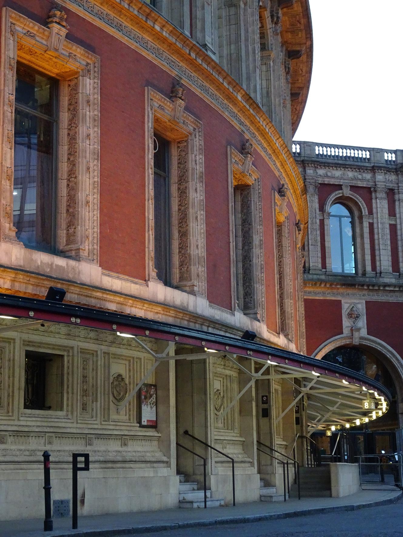 Royal Albert Hall Facade