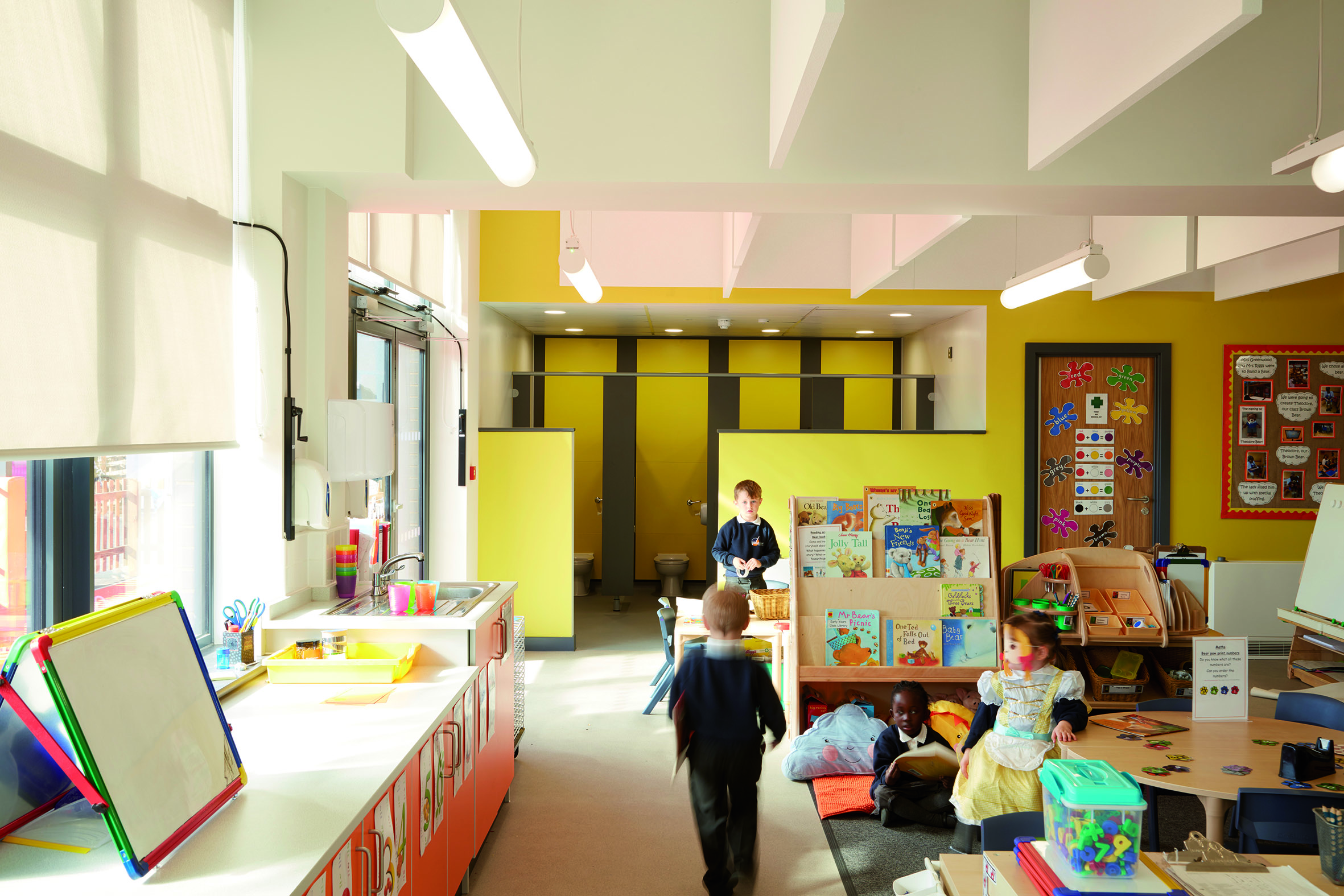 Whitehouse School play room