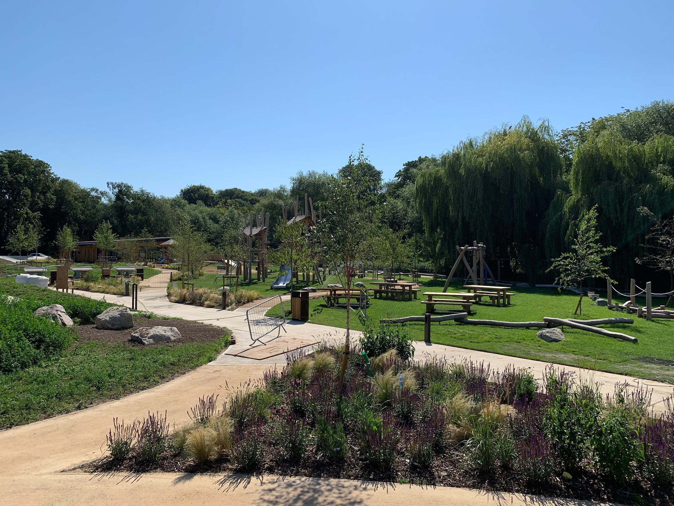 Oxhey Park playground 3