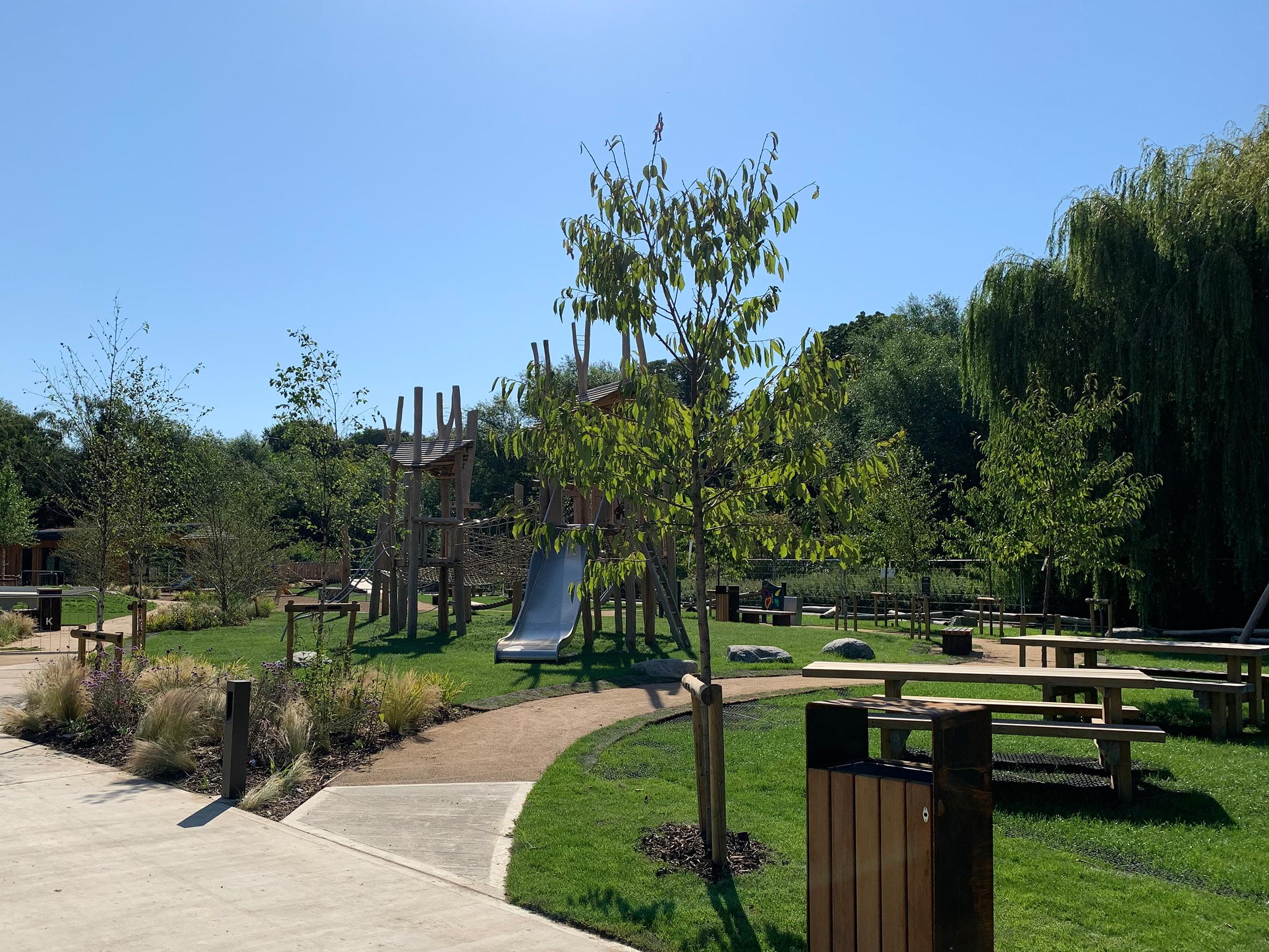 Oxhey Park playground